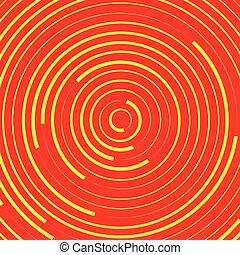 círculos concéntricos, anillos, resumen, pattern., suitable, como, fondos, o, elements.