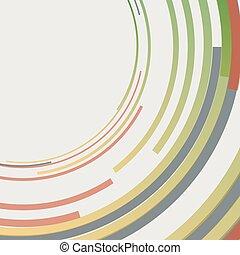 círculos concéntricos, resumen, elemento