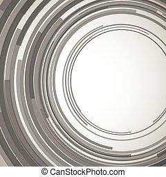 círculos, concêntrico, abstratos, elemento