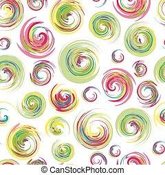 círculos, cores, esboço, grunge, golpes, redemoinhos, artsy,...