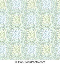 círculos, padrão, abstratos, seamless, vetorial, fundo
