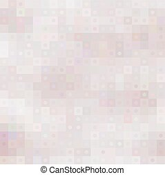círculos, pastel, cuadrados, mosaico, plano de fondo