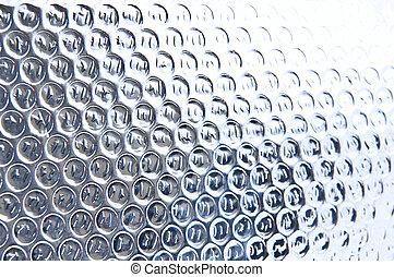 círculos, resumen, metal, textura
