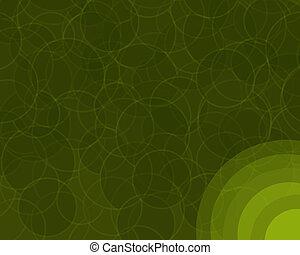 círculos, retro, fundo