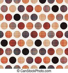 círculos, seamless, textura, plano de fondo