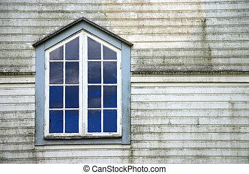 církev, okno
