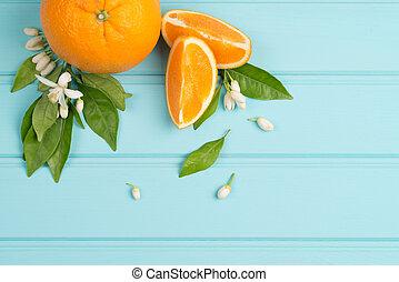 cítrico, frutas frescas