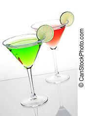 cócteles, dos,  Alcohol