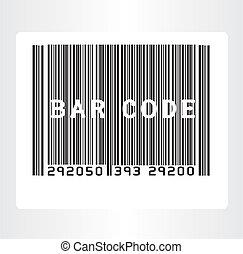 código, barra