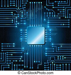 código, binario, circuito, electrónico
