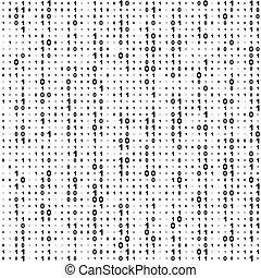 código binario, seamless, plano de fondo