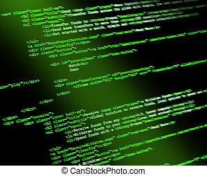 código, programa
