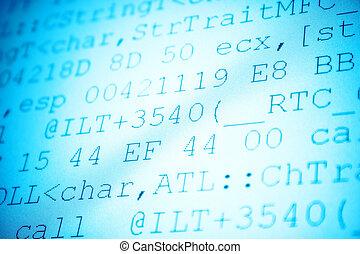 código, programación