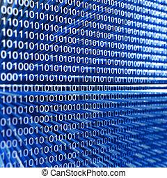código, software