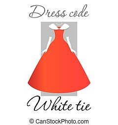 código, vestido