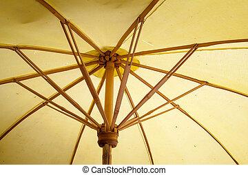 cómo, artes, paraguas, artes