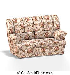 cómodo, arme silla