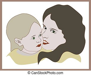 córka niemowlęcia, macierz