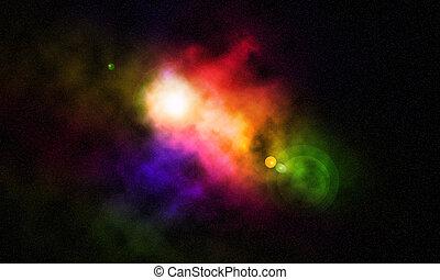 cósmico, espacio
