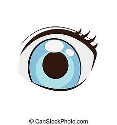 Azul Estilo Olhos Anime Azul Estilo Olhos Experiencia