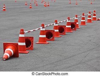 cône trafic