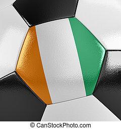 côte ivoire, boule football