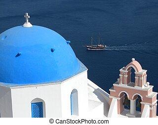 cúpula azul