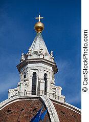 cúpula, del, santa, fiore, catedral, florence-the, maria