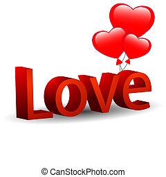 cœurs, amour