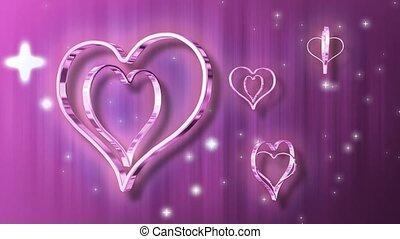 cœurs, argent