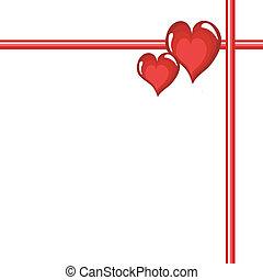 cœurs, cadre