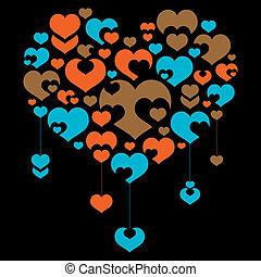 cœurs, collection