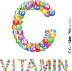 c, ビタミン