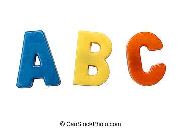 c, aimants, lettre b