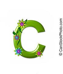 c, alfabeto, wonderland