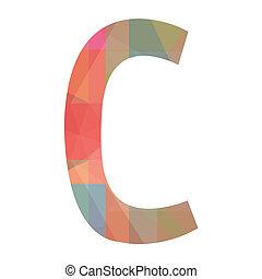 C alphabet
