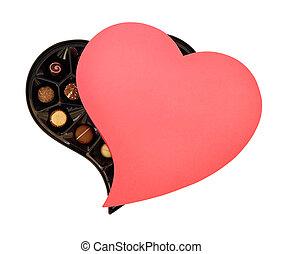 c/, día de valentines, chocolates