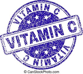 c, grunge, postzegel, textured, vitamine, zeehondje