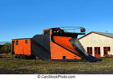 C & H Railroad Snow Plow