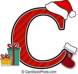 c-hang, nagybetű, karácsony