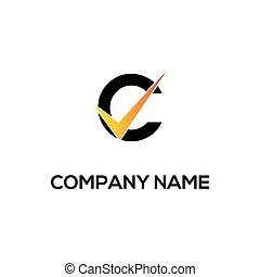 c initial logo company