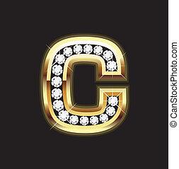 c lowercase bling