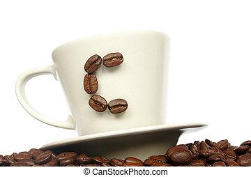 c, per, caffè