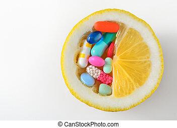 c, pilules vitamine