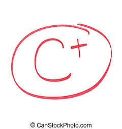 C Plus Grade