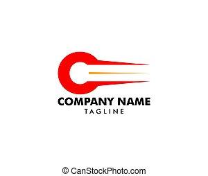 c, pojęcie, początkowy, mocny, litera, logo