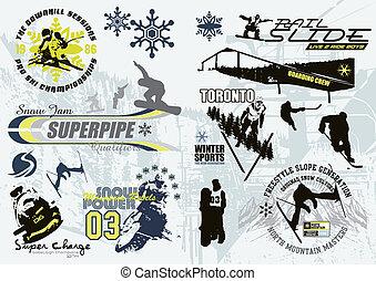 c, sport, hiver