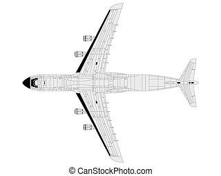 C5 galaxy - high detailed vector illustration of modern...