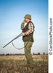 caçador, caça
