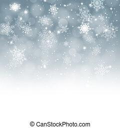 caída nieve